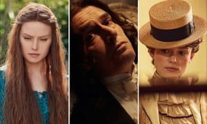 Daisy Ridley in Ophelia, Rupert Everett in The Happy Prince and Keira Knightley in Colette.