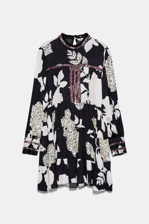 Printed dress, £59.99, zara.com