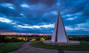 the Light Pyramid in Milton Keynes
