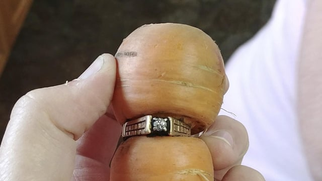 Canadian Woman 84 Finds Long Lost Diamond Ring Wrapped Around