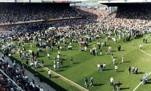 Hillsborough football ground disaster