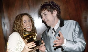 Sheryl Crow with Bob Dylan in 1998.