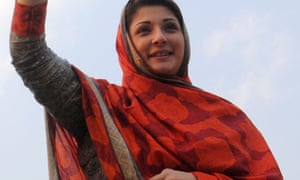 Mariam Nawaz Sharif in 2013
