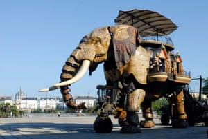 Mechanical elephant, Le Voyage à Nantes.