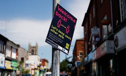 A street sign in Rochdale.