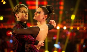Lauren and AJ on Strictly