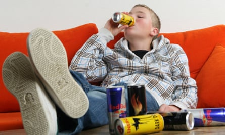 Two-thirds of 10-16-year-olds regularly consume energy drinks such as Red Bull and Monster Energy.