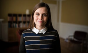 Katrín Jakobsdóttir heads the Left-Green Movement.