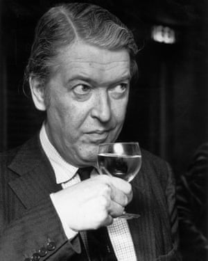 Kingsley Amis, pictured in 1975.