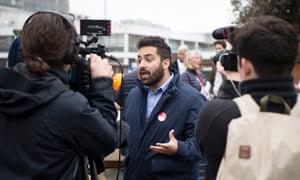 Ali Milani, the Labour candidate, in Uxbridge and South Ruislip.