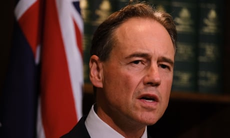 Greg Hunt has 'absolute belief' that banning returns from India is legal – as it happened
