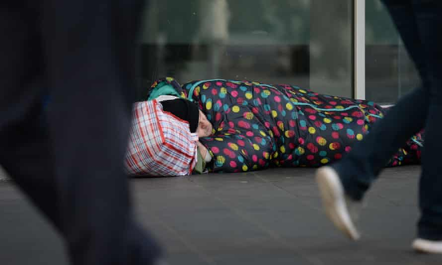 'Homelessness shouldn't be thought of as an unfortunate inevitability of British life.'