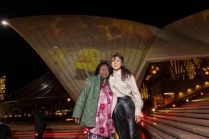 First Nations Artworks Illuminate Sydney Opera House Sails As Part Of Badu Gili: Wonder Women