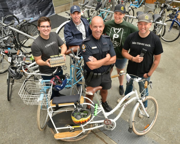 Bike theft is not inevitable': Vancouver rolls out a cycle crime
