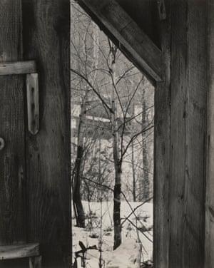 Toward the Sugar House, Vermont, 1944
