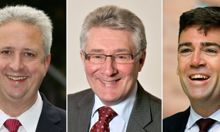 Ivan Lewis, Tony Lloyd and Andy Burnham