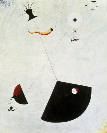 Maternité by Joan Miro, 1924.
