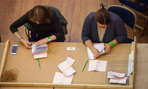 The count in Cambridge after the EU referendum in June 2016.