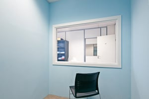 Rooms of Truth: a police interrogation room