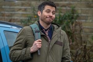Robert James-Collier as the new deputy head in Ackley Bridge