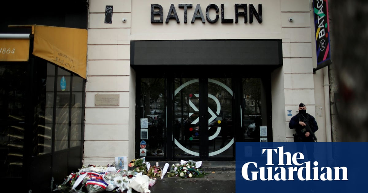'There was blood everywhere': UK and Irish survivors on 2015 Bataclan attack