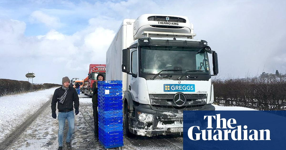 Greggs blames 'beast from the east' for weaker profits | Business