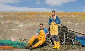Fishbox founders, Magnus and Fiona Houston