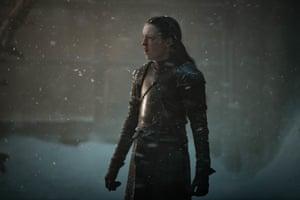 A rough season for pre-teens ... the indefatigable Lyanna Mormont.
