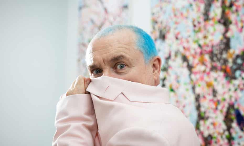 A bit wiser and more patient … Damien Hirst.
