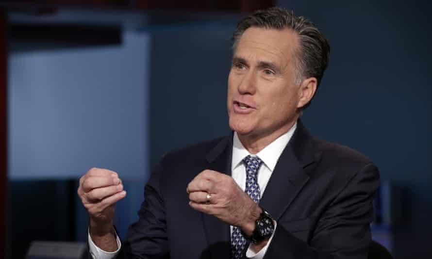 Romney said he never had any intention of mounting a white knight candidacy against Trump, as has been reported.