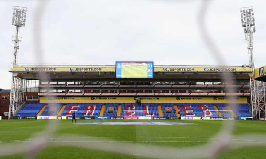 Selhurst Park beforew Palace's 1-0 win over Middlesbrough.