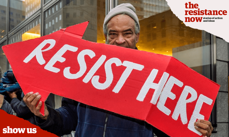 Help us see what the resistance looks like