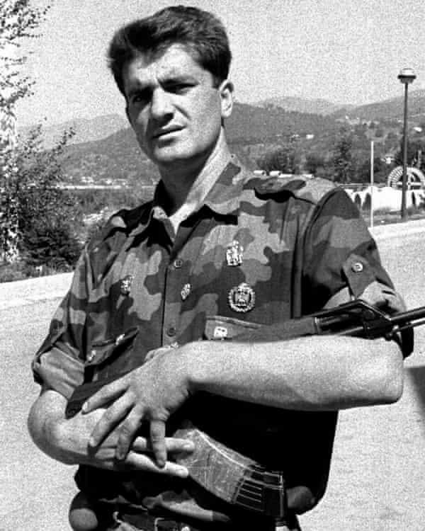 The Serbian war criminal Lukic