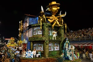 The Unidos do Peruche samba school