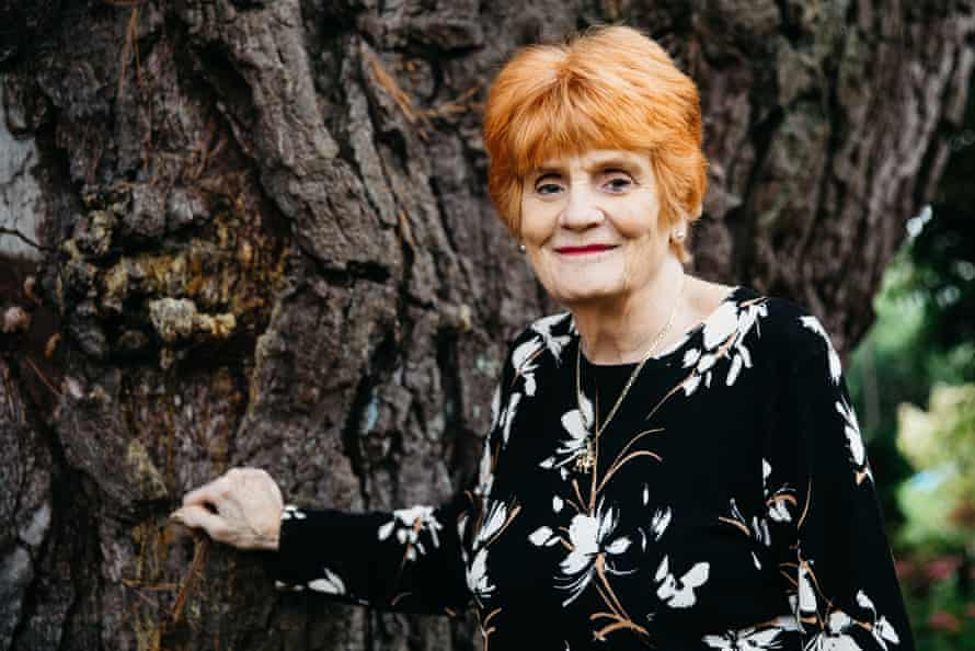 Eileen Paddock has got a tree preservation order to protect the suffragettes' pine.