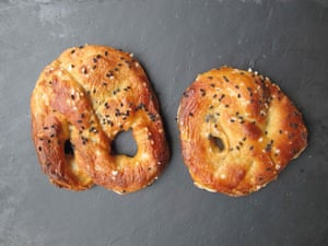 Ruth Joseph's pretzels.