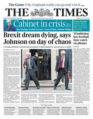 The Times, 10 July 2018