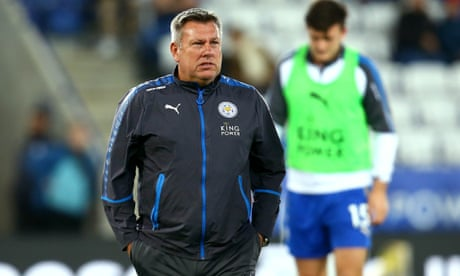 Craig Shakespeare sacked by Leicester City after four months in charge