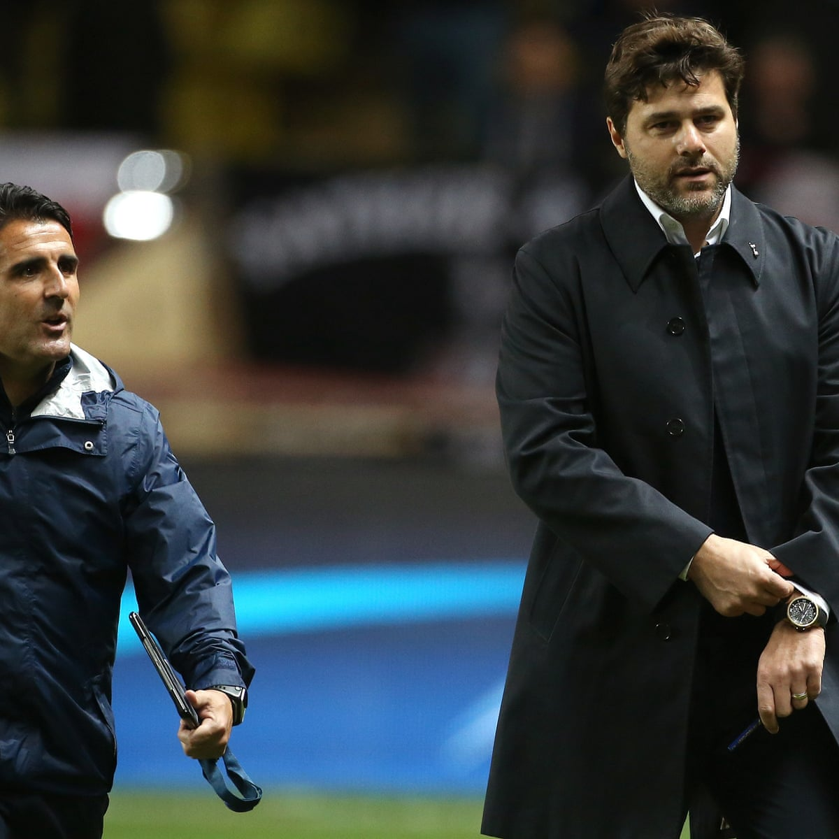 Mauricio Pochettino Tottenham Will Stay At Wembley For Europa League Tottenham Hotspur The Guardian