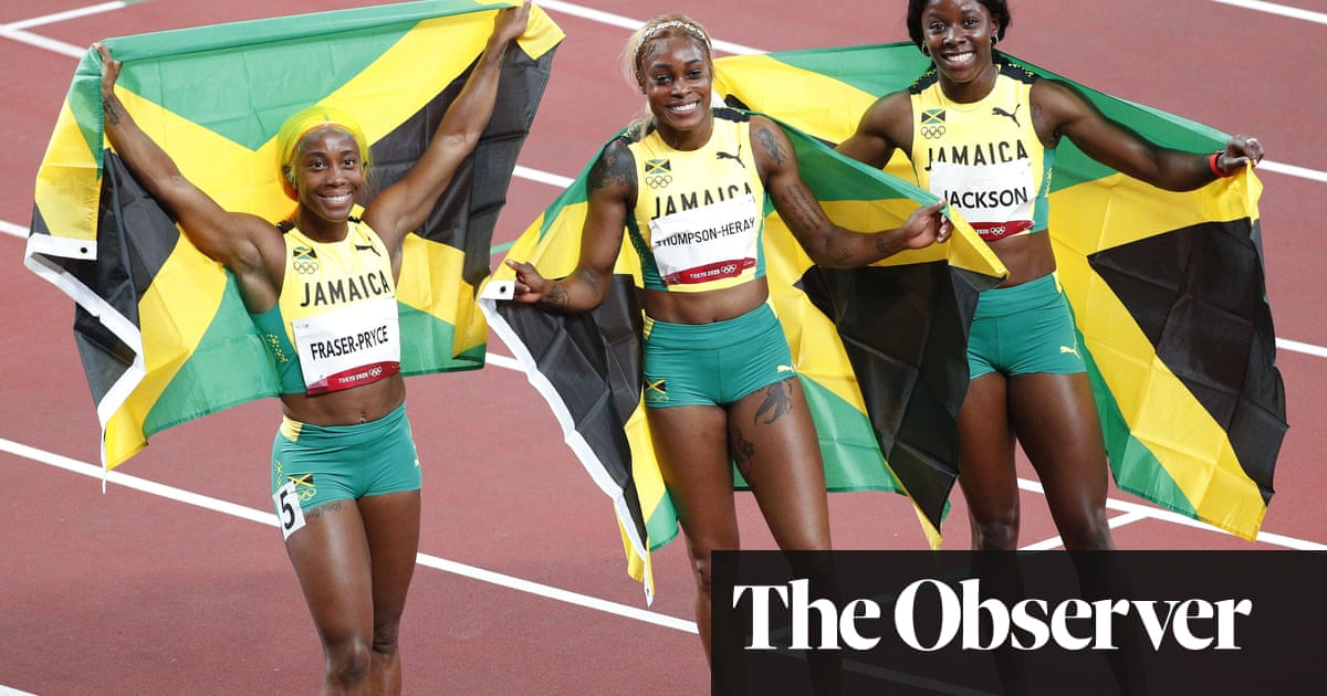 Great Jamaicans start to shift their sport out of Flo-Jo's shadow
