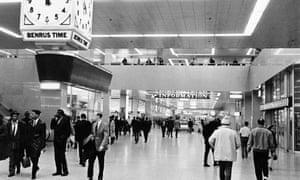 Port Authority Bus Terminal, New York, 1969.