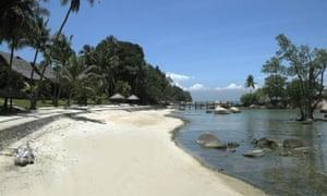 Turi beach on Batam