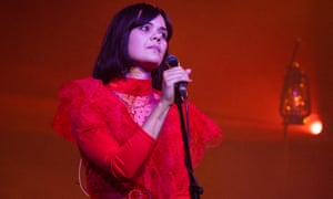 Bat For Lashes performing at EartH, London, in November.