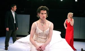 Julian Wadham (Hugh), Matt Smith (Henry) and Lindsay Duncan (Martha) in That Face