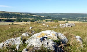 Land purchased by the National Trust at Stoney Middleton in the Peak District