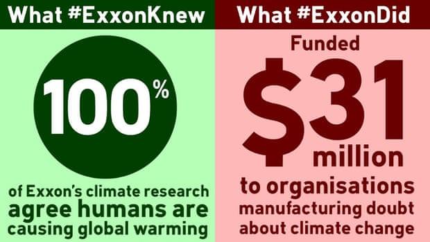 exxon knew vs did