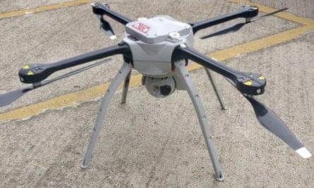 An Aeryon Skyranger drone