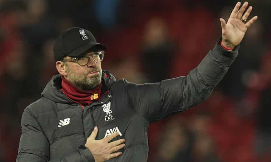 Liverpool's manager Jürgen Klopp has said it's 'no contest' between football and the good of wider society when it comes to coronavirus.