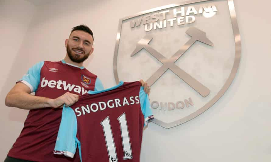Robert Snodgrass has scored seven goals and made three assists in 20 appearances for Hull City this season.