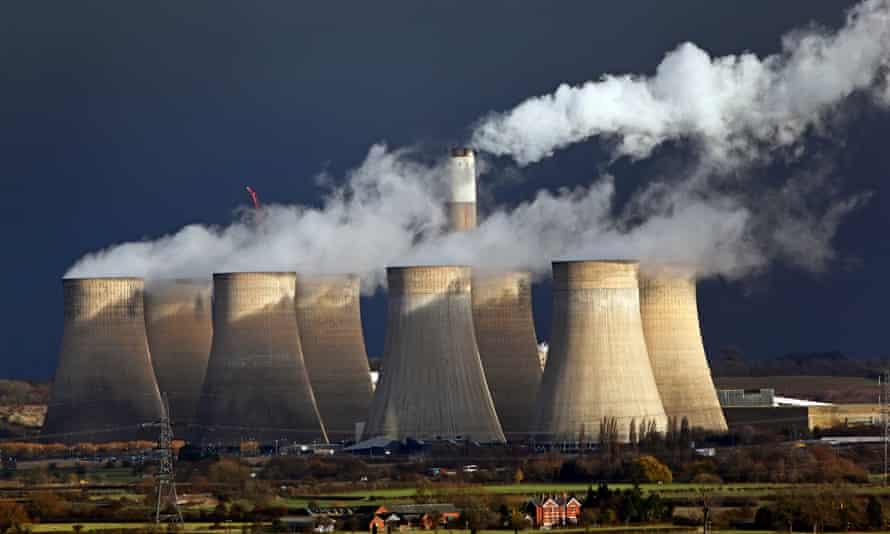 EON coal power station in Nottinghamshire